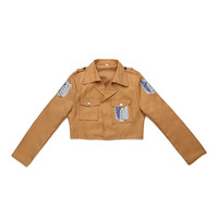 Attack On Titan Jacket Shingeki No Kyojin Jacket Legion Cosplay Costume Eren 6 SIZE