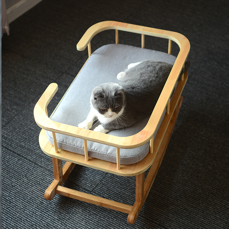 Wood Cat Beds Shake Beds For Pets Pet Bed Luxury Cat Home