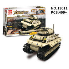 495pcs+ 5 Style WW2 Building Blocks RC Tank Set World War II Military Truck Model DIY Assemble Bricks Toys For Children Gifts цена