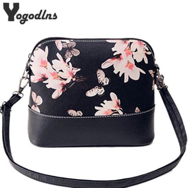New 2019 women shoulder bag leather handbag women messenger bags famous brand shell package Women pouch