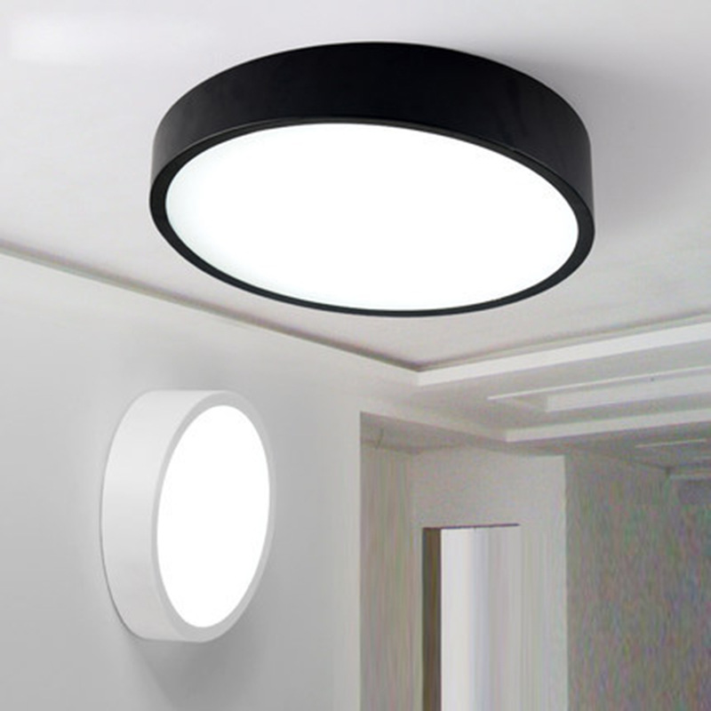Modern LED Ceiling Lights black/white color personality Indoor Lighting Ceiling Lamps Fixture For Living Room Bedroom lamp modern pendant chandelier 3 lights ceiling lamp fixture red black white color