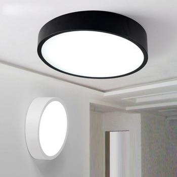 Ultra dunne Creatieve Geometrie Stijl Plafondlamp Moderne Eenvoudige Romantische Led Plafondlamp voor woonkamer gangpad restaurant studie