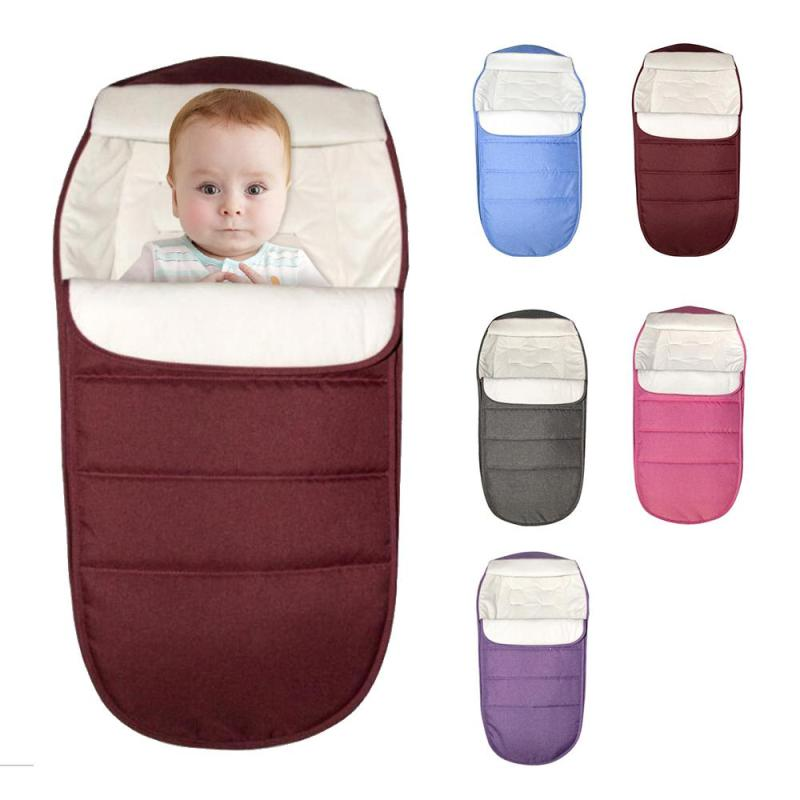Baby sleeping bag windproof Baby Stroller 0-24M baby stroller footmuff Universel stroller Sleeping Bag Infant blankets warmth D3