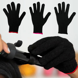 Image 3 - 1pc Heat Resistant Glove For Hair Curling Styling Salon Hair Dresser Accessorie Hand Skin Care Protector Gloves Anti Heat Proof