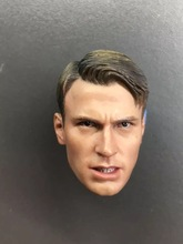 1/6 Male Head Sculpt for Captain America Wolverine Winter Soldier Action figure collection toy
