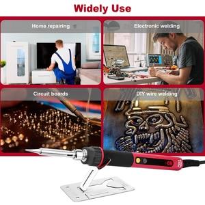 Image 5 - CXG E60WT Professional LED Digital Adjustable Electric Soldering Iron 60W Constant temperature Soldering Station E60W