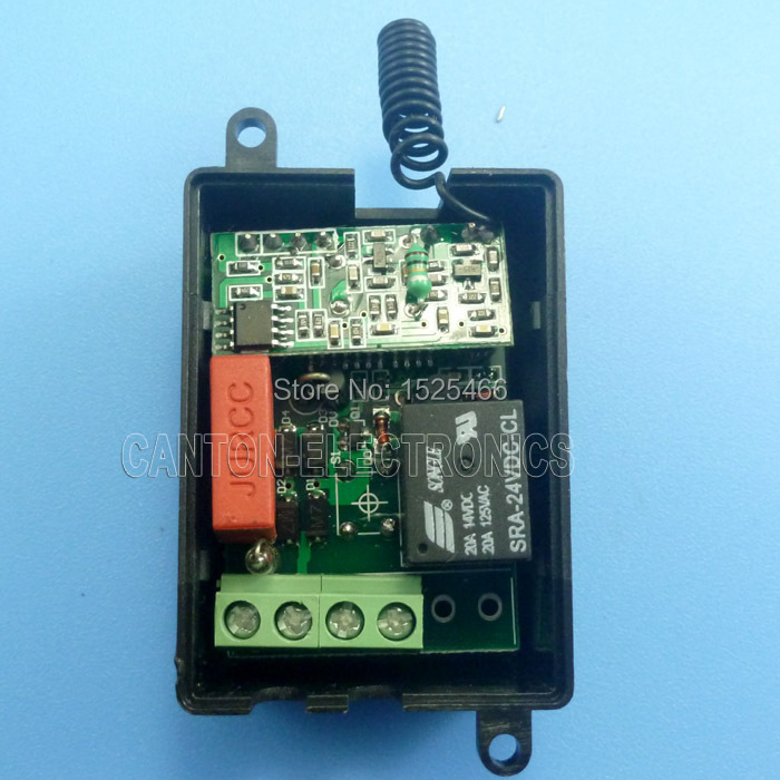 Front View Of 220 Volt Ac Operated Led Circuit