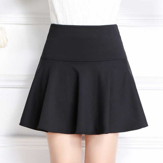 New Brand Italy Style Maternity Clothes A-Line Skirt Solid Color Pleated Skirt Women Maternite Jupe M-XL