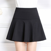 New Brand Italy Style Maternity Clothes A Line Skirt Solid Color Pleated Skirt Women Maternite Jupe