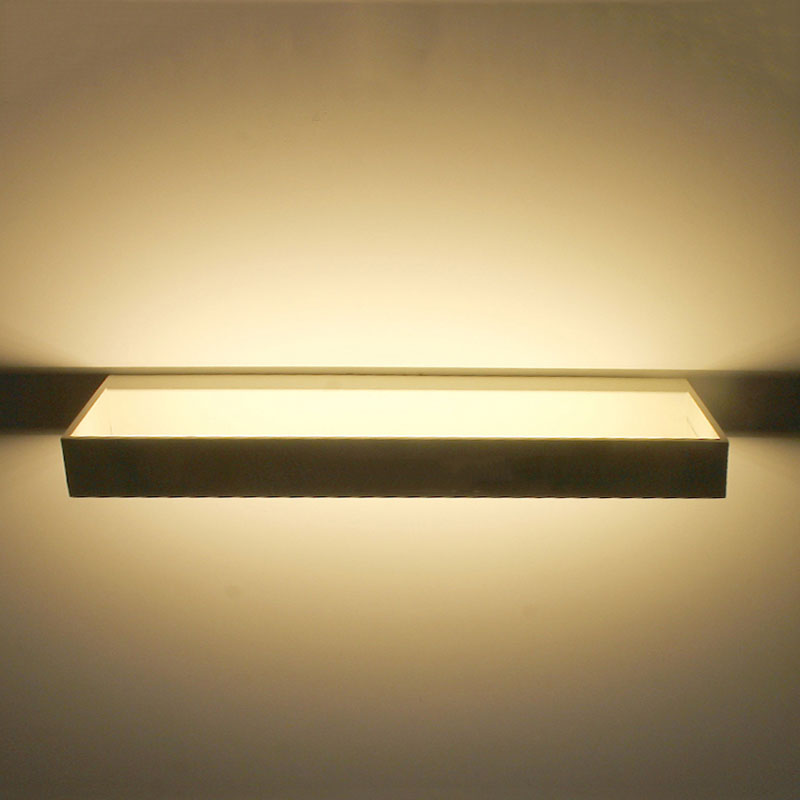 ФОТО  Modern Rectangular wall lamp, hollow wall sconce, patented design wall light