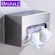 Bathroom Toilet Paper Holder with Shelf Cover Chrome Stainless Steel WC Roll Paper Tissue Box Wall Mounted Paper Towel Holder free shipping wall toilet paper holder chrome stainless steel roll paper tissue rack with cover