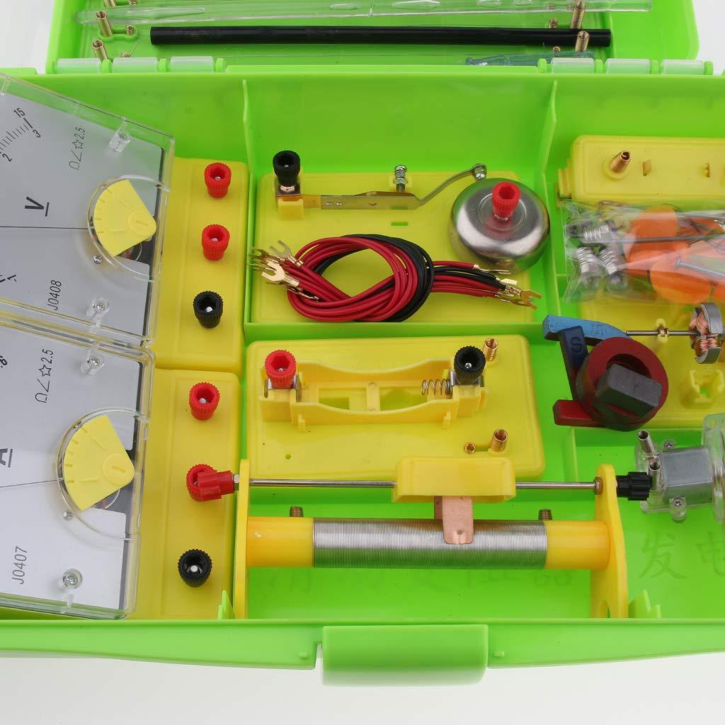 Kit de tige de Circuit électrique matériel de laboratoire d'expérimentation de physique équipement éducatif d'apprentissage de Science d'électro-tisme - 2