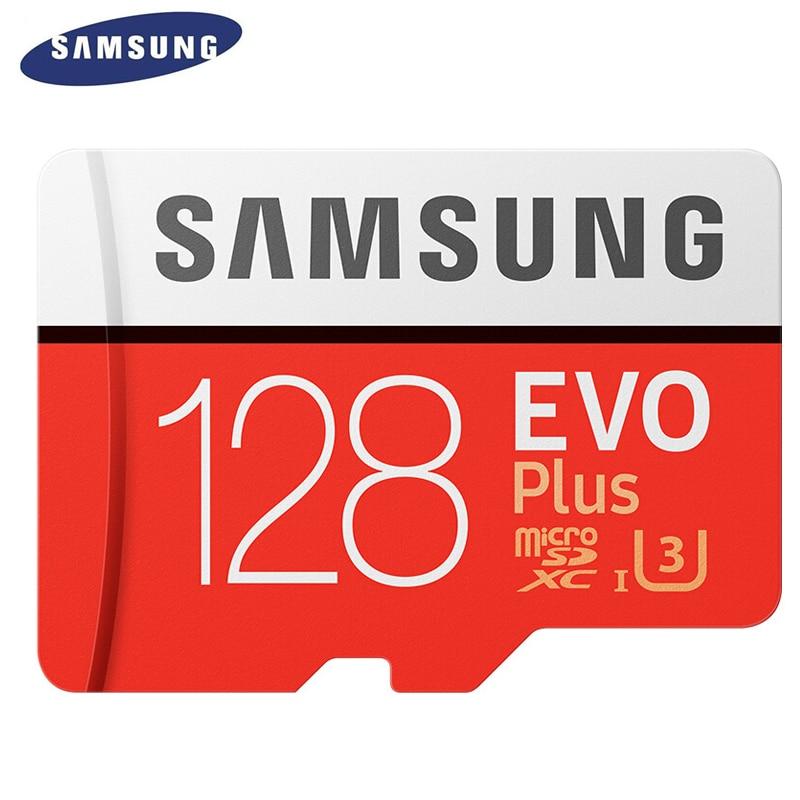 SAMSUNG 100% Original 128GB TF Micro SD Card Memory Card MicroSD EVO Plus Class 10 C10 UHS for Smartphone Tablet Camera samsung atadu 10 original