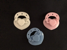 Cute Magnetic Pacifiers for Reborn Baby Dolls Handmade DIY Pacifier Magnet Nipples Dolls Accessories