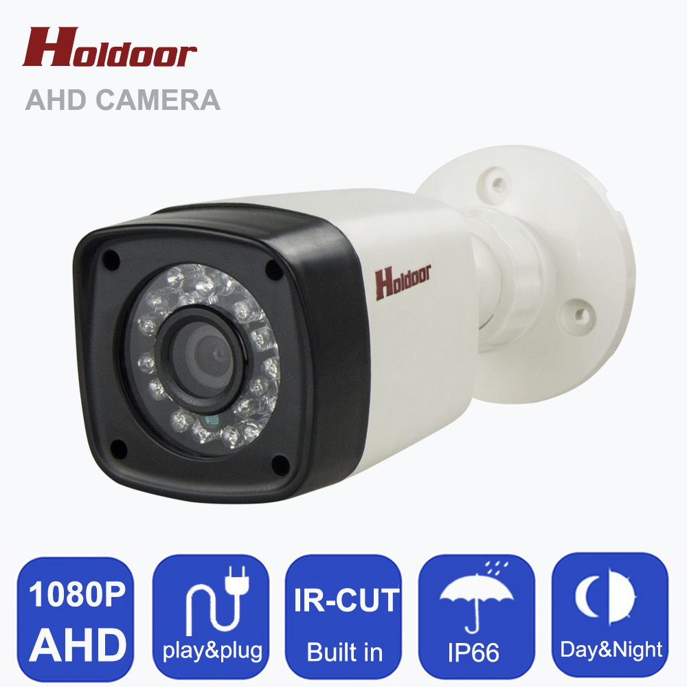 AHD 1080P HD 1MP CCTV Security Camera indoor waterproof 24 pcs leds IR night vision in Home Surveillance Security System on sale