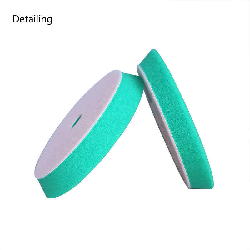 DETAILING Heavy Cut Bevel Edge Foam Buffing Pad Car Polishing Pad  for 6inch Auto Polisher&Dual Action Polisher
