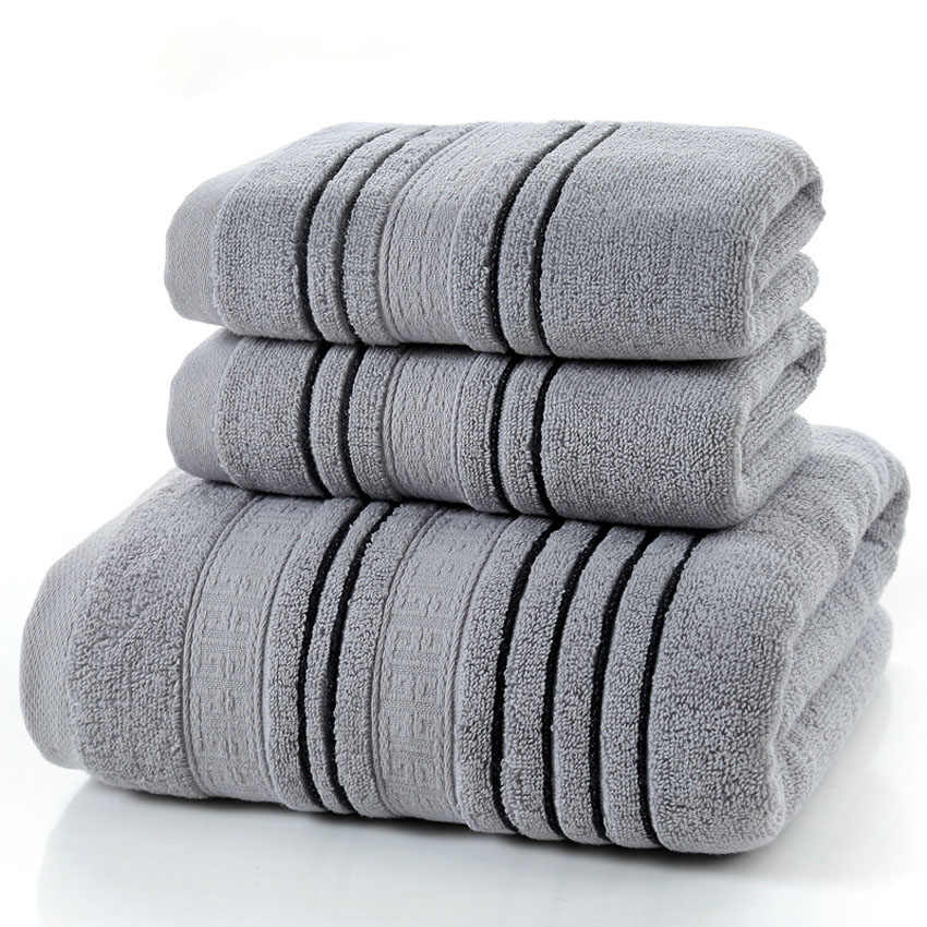 Bawełniany ręcznik kąpielowy gruby ręcznik do twarzy strona główna łazienka Hotel dla dorosłych ręcznik dziecięcy zestaw Toalha de banho Serviette de bain