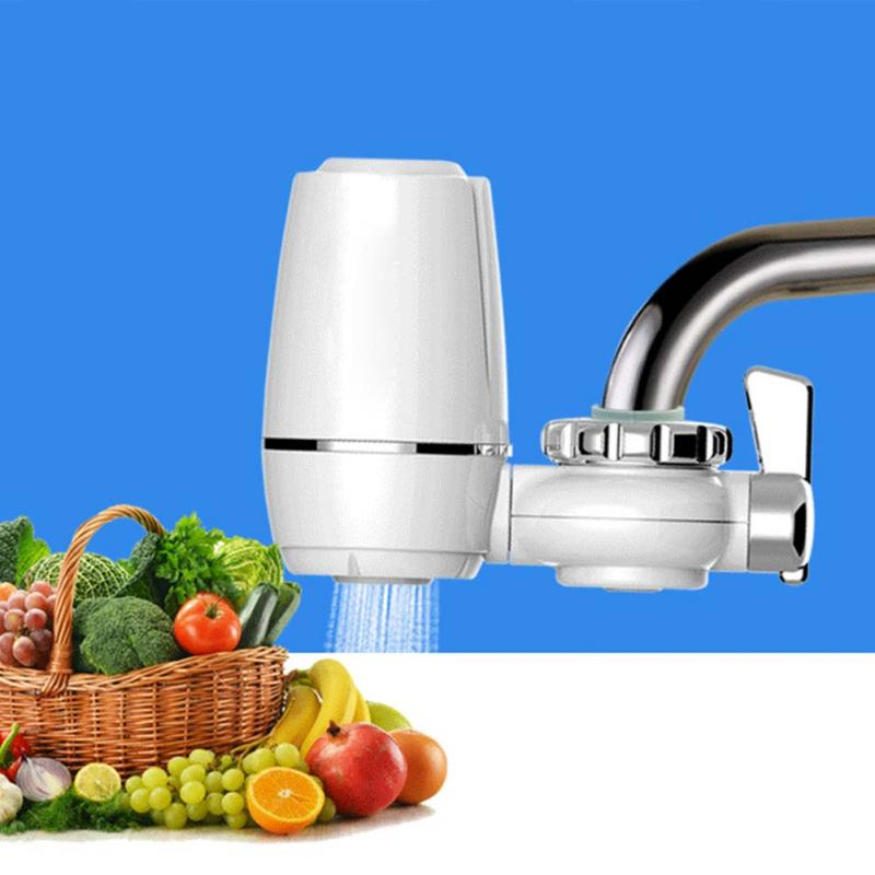 New High Quality 105mm*135mm Tap Faucets Water Filter Washable Ceramic  Faucets Mount Water Purifier