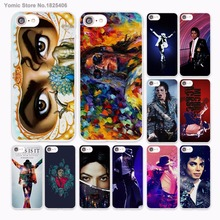 mj dangerous archangel eyes close up Musical hard White Case Cover for Apple iPhone 7 6 6s Plus SE 5 5s 5C 4 4s phone cas