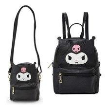 Leuke My Melody Cinnamoroll Kuromi Pu Lederen Schouder Tas Kleine Back Pack Crossbody Tassen Voor Vrouwen Meisjes Sling Bag