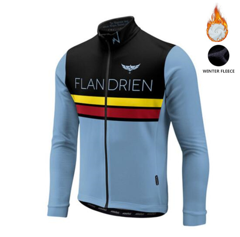Cycling Jersey Road-Bike Morvelo Long-Sleeve Fleece Maillot Winter Classic Men for Ciclismo-Sl