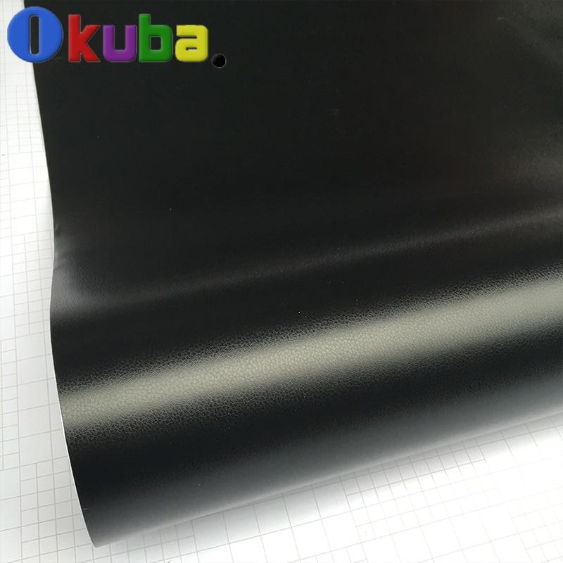 Leather Pattern PVC Adhesive Vinyl Film Stickers Car Decoration Carbon Fiber Film Vinyl Wrap Air Bubble Waterproof PVC