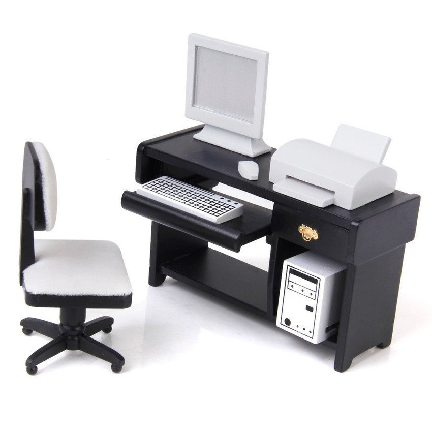 sworld-dollhouse-miniature-furniture-computer-desk-chair-printer-set-1-12-export-intl-7201-2490626-8-zoom