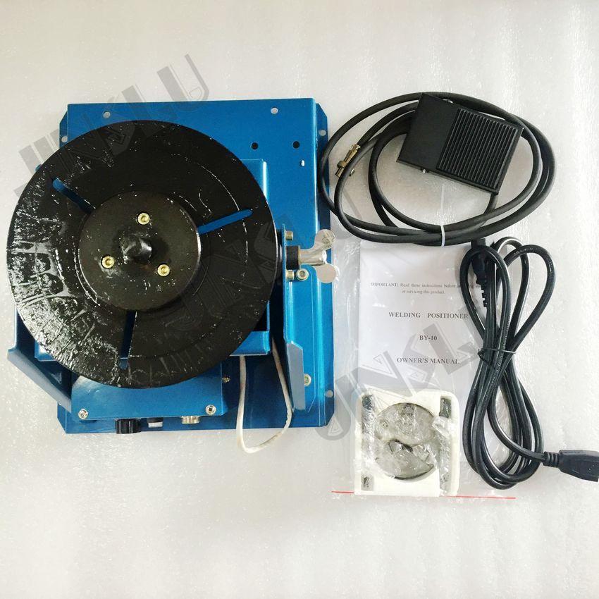 110V BY-10 mini svařovací polohovací svařovací rotátor s K01-63 - Svářecí technika - Fotografie 6