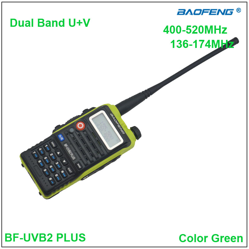 Original BaoFeng BF-UVB2 Plus two way radio Dual Band Baofeng BF UVB2 Walkie talkie Green Color w/EarpieceOriginal BaoFeng BF-UVB2 Plus two way radio Dual Band Baofeng BF UVB2 Walkie talkie Green Color w/Earpiece