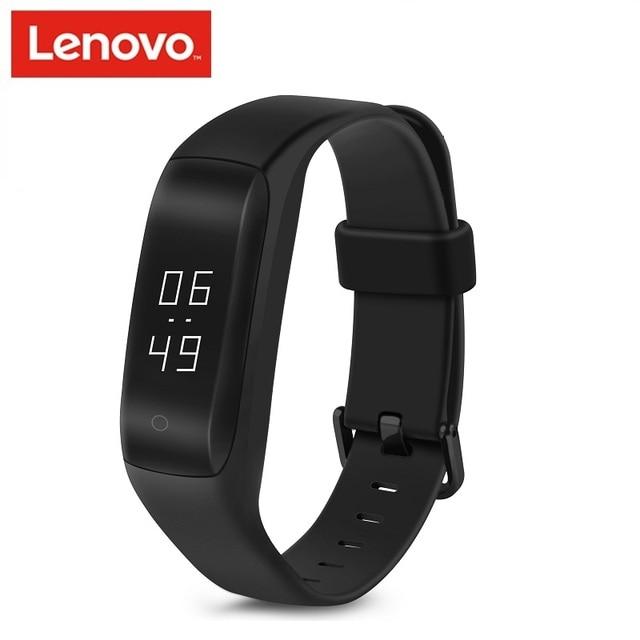 Lenovo HW01 חכם להקת חכם שעון חכם צמיד לב Moniter קצב פדומטר כושר Tracker עבור אנדרואיד iOS Bluetooth 4.2