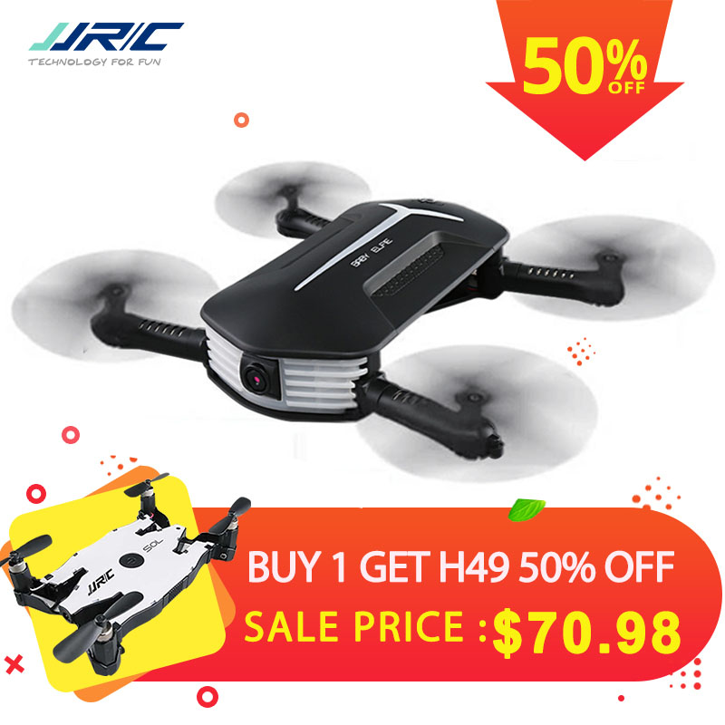 JJRC JJR/C H37 Mini Baby Elfie Selfie 720P WIFI FPV With Altitude Hold Headless Mode Foldable RC Drone Quadcopter RTF jjrc h43wh mini drone h43 selfie elfie wifi fpv with hd camera altitude hold headless mode foldable arm rc quadcopter drone uav