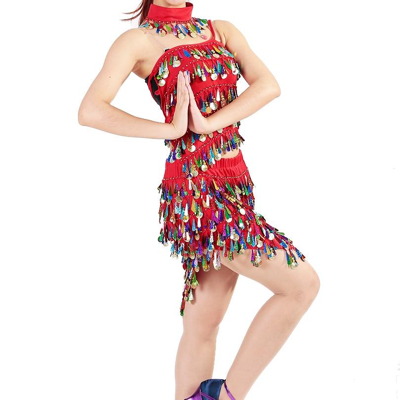 Изпълнение Дамски дрехи за танци Salsa - Дрехи за сцена и танц - Снимка 6