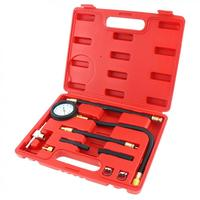 0 100 PSI Fuel Injection Pump Pressure Injector Tester Pressure Testing Gauge Kit