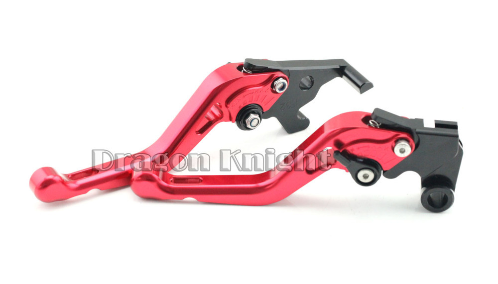 ФОТО motorcycle accessories For YAMAHA YZF-R 25 R3 Short Brake Clutch Levers Red