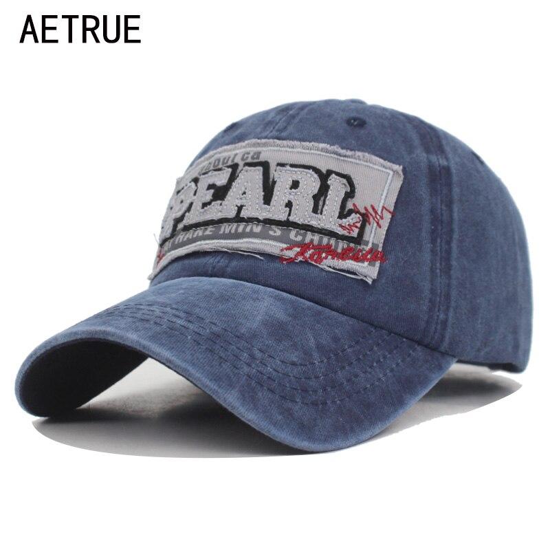 Gorra de béisbol AETRUE lavada gorra de béisbol para hombres Gorras de  béisbol para hombres de 5cc33a97491