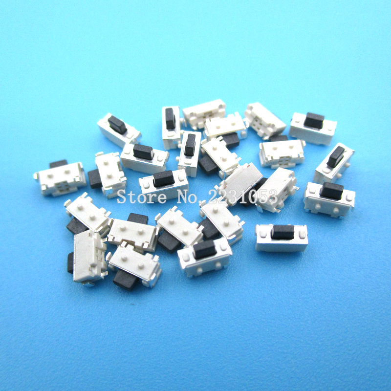 100pcs Micro Switch Touch 3*6*3.5 SMD For MP3 MP4 Tablet PC Button Ga