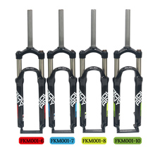 2019 New Bike Fork 26/27.5/29er MTB All Aluminum Alloy Mechanical Suspension Spring Damping Bicycle Part Accessories