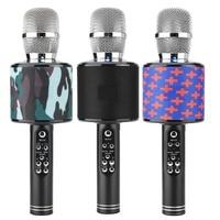 K319 Surrounding Sound Karaoke Bluetooth Microphone Phone Recording Songs Karaoke Microphone