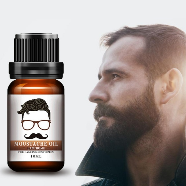 Natural 30 Ml Mustache Care Oil Beard Fast Growth Sd Anic Balm