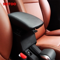 SKTOO For Peugeot 2008 armrests box / non perforated central storage box modification / upgrade version of the box