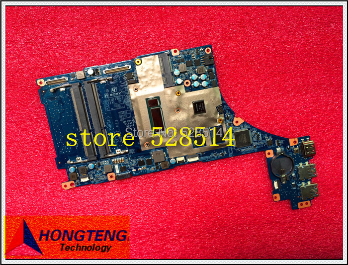 Best Quality DA0FI3MB8D0 FOR SONY Vaio SVF15N LAPTOP motherboard with SR16Z and N14M-LP-S-A1 chipset onboard 100% tested OK