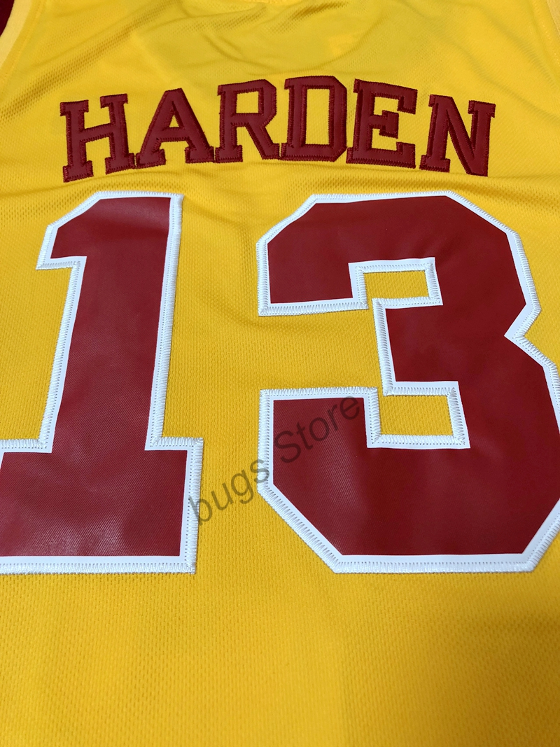 official photos 64acf 28d56 inexpensive mens arizona state 13 james harden gold college ...