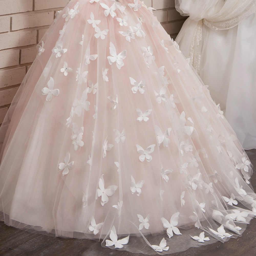 c75a1d34ea3 ... Цветок мальчик длинные белые кружева бабочка платье из сетки для  принцессы взлетно-посадочной полосы председательствовал ...