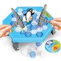Romper el hielo Guardar El Pingüino Gran Tablero de Juego de La Familia Antiestrés Divertidos juguete Truco Divertido Que Hacer El Pingüino Caerse Perderá juego