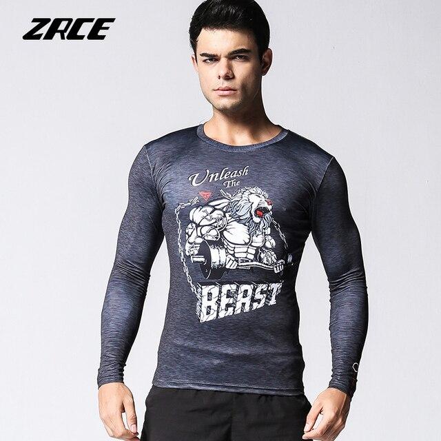 c67c67850c0 Camisa do Treinamento t Pessoal ZRCE Crossfit Desgaste Do Esporte roupas de  Fitness Roupas de Secagem