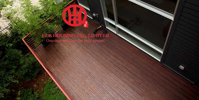 Natural Terrace Decking Solutions / Outdoor Flooring Terrace/ Garden Decking Prices