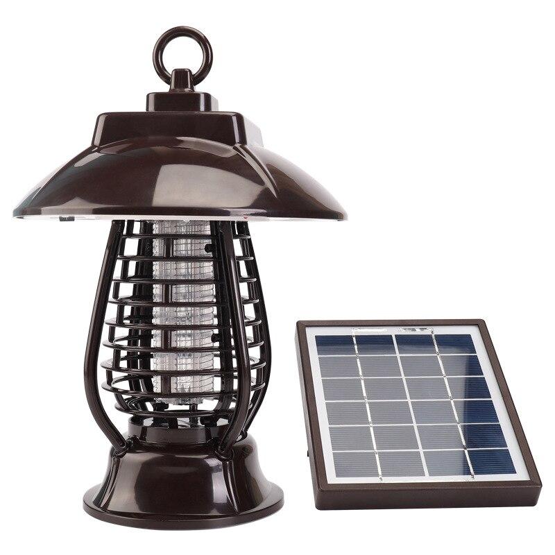 Solar 24LED Mosquito Killer Rechargeable Waterproof Outdoor Garden Lawn Lamp Indoor Mosquito Killing / Lighting
