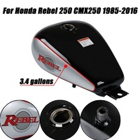 Motorcycle New 3.4 gallons Fuel Gas Tank For Honda CMX 250 CMX250 Rebel 1985 2016 04 05 06