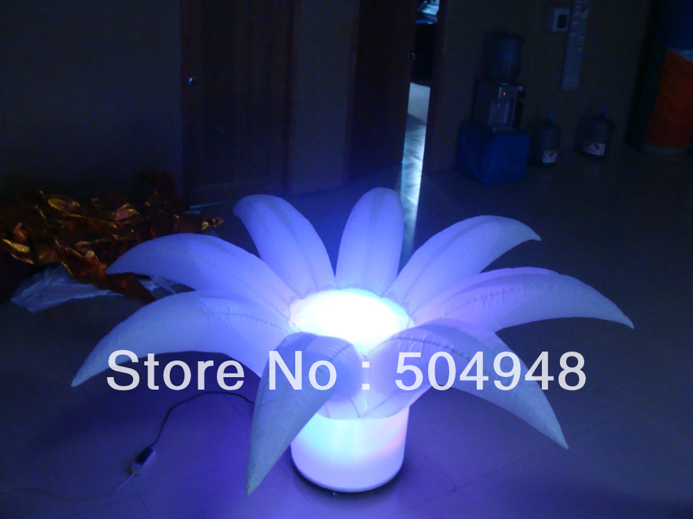 2014 Inflatable Flower For Wedding Decoration lighting inflatable flower for wedding decoration