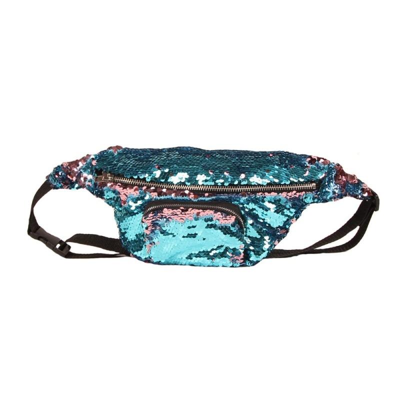 SAFEBET Märke Mode Kvinnor Mermaid Talje Packs Multifunktionella 3D - Bälten väskor - Foto 4